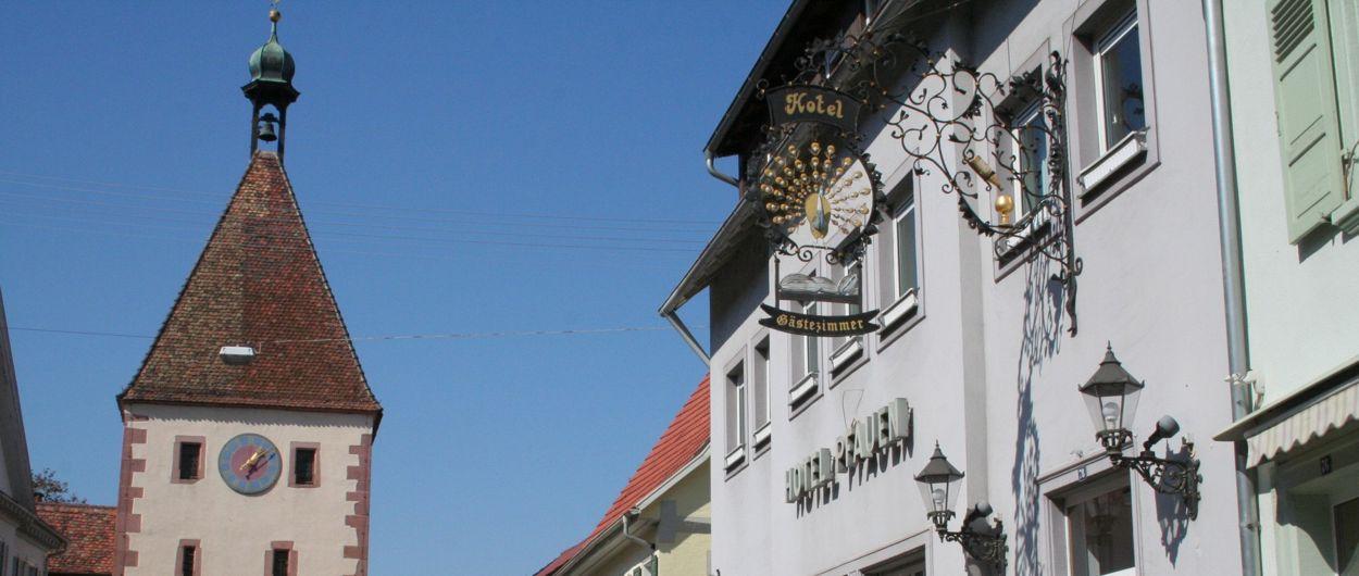 Hotel Pfauen in Endingen
